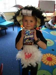 Best costume winner  Joshua